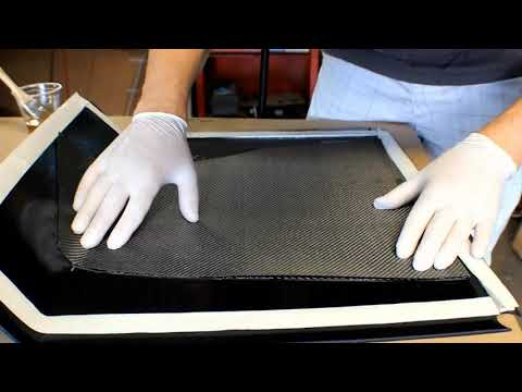 carbon - This video shows the basics of carbon fiber lay up, step by step for vacuum bagging. Take a look, leave feedback and ask any questions you may have. Resource...