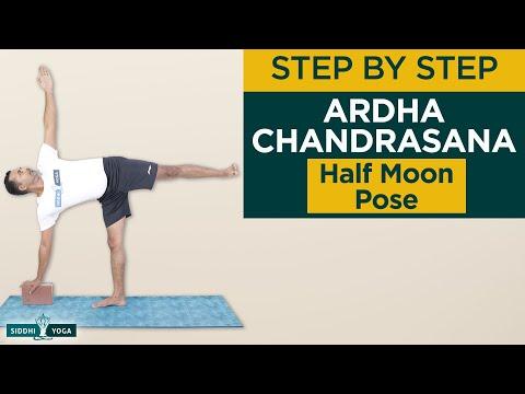 Ardha Chandrasana (Half Moon Pose)
