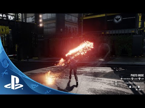 second - Learn how to use the Photo Mode now available in inFAMOUS Second Son! Available Now, inFAMOUS Second Son, a PlayStation 4 exclusive, brings you an action adv...