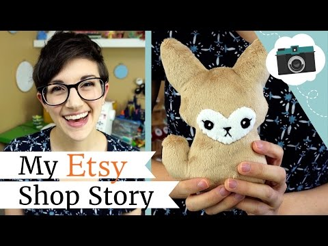 Why I Make Plushies - My Etsy Shop Story | @laurenfairwx