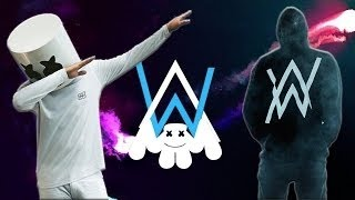 Alan Walker - OM TELOLET OM WITH ALONE Feat. Marshmello (Unofficial Music Video) HD