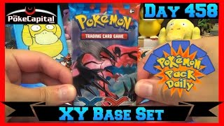 Pokemon Pack Daily XY Base Set Booster Opening Day 458 - Featuring ThePokeCapital by ThePokeCapital
