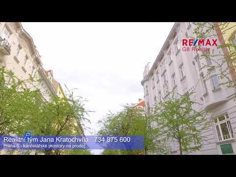 Video Kancelář v atraktivní části Prahy 6