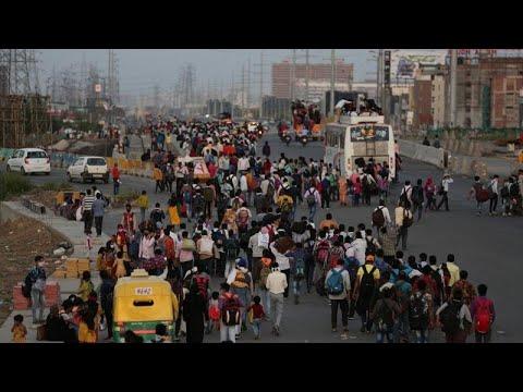 COVID-19: Πολίτες δεν εφαρμόζουν τα μέτρα σε Ινδία και Αφρική …