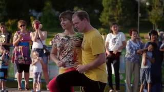 Abakan Russia  city photos : KIZOMBA FLASHMOB summer 2016, Abakan, Russia