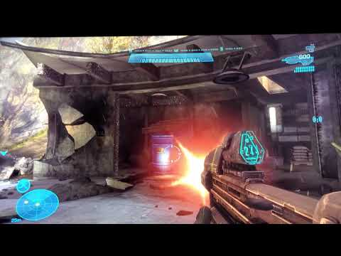 HALO REACH 4K HDR XBOX ONE X FIRST IMPRESSIONS