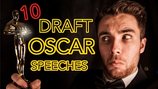 Here are 10 A-List Actors (ish) who are glad they edited their Academy Award speeches before the big day…Twitter: https://twitter.com/c_hopkinsonFacebook: https://www.facebook.com/VoiceraptorSnapchat: chopkinson92Instagram: chopkinson1992Patreon: https://www.patreon.com/user?u=3213723The Academy awards on the 26th of February is the biggest night of the year in Hollywood, with the best in the movie business coming together to celebrate the greatest performances of the past calendar year.The 2017 Oscars are looking like a shoe in for La La Land starring Ryan Gosling and Emma Stone.Previous recent winners of the best actor award include Leonardo Di Caprio for 'The Revenant', Matthew McConaughey for 'Dallas Buyers club' and Eddie Redmayne for 'The Theory of Everything'. Unfortunately I can't do a di Caprio impression yet but the other two feature!This video is a fictional set of first drafts for some of those Oscar winner and some other likely (and less likely) other nominees. They are performing the Academy Award acceptance speeches that they may have read had fate, or their script writer not intervened.Obviously it is myself performing them using various impressions (including a new George Lucas).The list of impressions:Matthew McConaugheyRobert De NiroLiam NeesonMorgan FreemanEddie RedmayneSir Ian McKellenKevin SpaceyGeorge LucasOwen WilsonRay RomanoThe Equipment that I use:Recording Microphonehttp://goo.gl/qGZCLTDSLR Camerahttp://goo.gl/MPX4RCLenshttp://goo.gl/7T7ZCHIntro Audio Michttp://goo.gl/Azug4nRode Mic Standhttp://goo.gl/3IIgYWAKG Headphoneshttp://goo.gl/sokDIzCharlie Hopkinson is a comedic impressionist who specialises in voices from current television shows and films.He started learning impressions in 2012, at the age of 20.After graduating from the University of Warwick in the summer 2013 he took 4 months out to concentrate on Youtube videos full time, including producing his most viewed video to date 'Morgan Freeman and 40 other impressions' with just ov