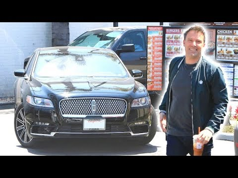 Birthday Boy Ben Affleck Hits The Drive-Thru For His Beloved Iced Coffee