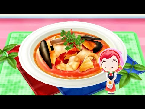 Cooking Bouillabaisse - Android Gameplay - Cooking Mama Let's Cook #90 - No Commentary