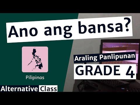 Araling Panlipunan Grade 4 - Ang Pilipinas ay Isang Bansa
