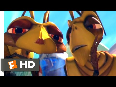 Antz (1998) - Chip and Miffy Scene (6/10)   Movieclips