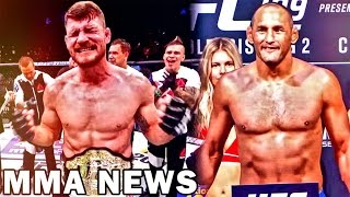 Nonton Michael Bisping Announces First Title Defense Against Dan Henderson At Ufc 204  Film Subtitle Indonesia Streaming Movie Download