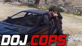 Dept. of Justice Cops #507 - First That Arrives