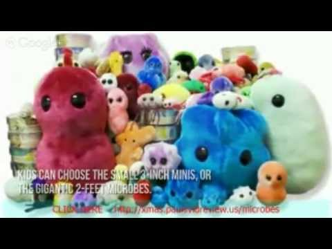 Toy Review Giant Microbes|Large Stuffed Animals|Stuffed Animals For Sale