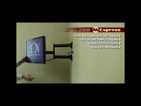 Swivel LCD TV Wall Mount Bracket   AV-Express Review