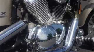 9. 1998 HONDA SHADOW VLX DELUXE 600CC WITH COBRA PIPES!