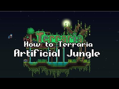 Террария как сделать джунгли
