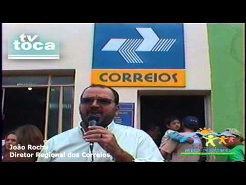 TV TOCA Reinauguração dos correios do distrito Nova Esperança (Perdigão)