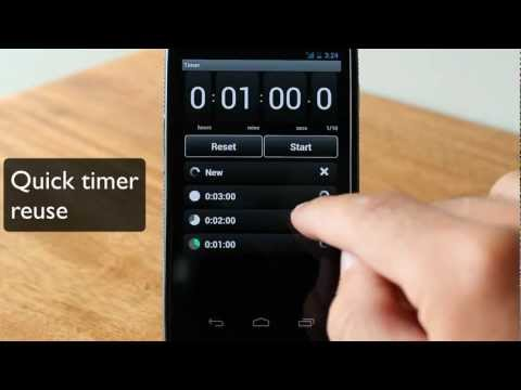 Video of Stopwatch & Timer