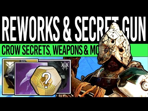 Destiny 2 | DLC UPDATES & MYSTERY EXOTIC! Crow Secrets, Strike Reworks, Weapon Updates & More