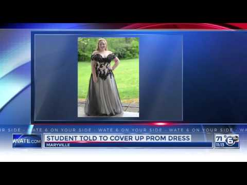 We Can't Believe Why a School Made This Teen Girl Cover Up At Prom