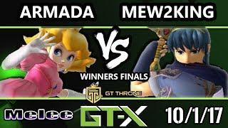 Video GTX 2017 Melee - [A]rmada (Peach) vs FOX MVG | Mew2king (Marth) - SSBM W.Finals MP3, 3GP, MP4, WEBM, AVI, FLV Oktober 2017