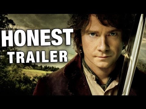 screen - Keeping movies honest ▻http://bit.ly/HonestTrailerSub Strap in for The Hobbit, the only movie trilogy that takes longer to watch than to read. We'll be uploa...