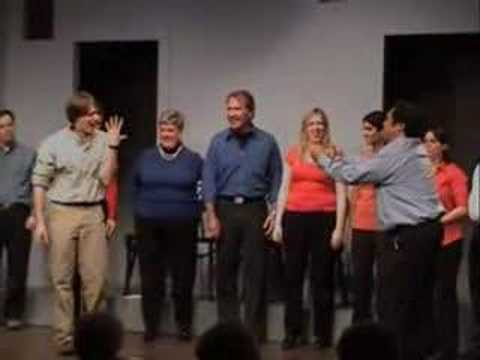 Second City Beginner Improv Level E Graduation Show Pt 9 (видео)