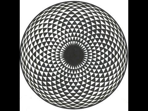 تشكيل زخرفي دائري