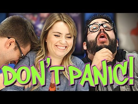 panic - Joe, Steve, Lee, and Matt play Don't Panic! GET OUR OFFICIAL APP: http://bit.ly/aIyY0w More stories at: http://www.sourcefed.com Follow us on Twitter: http://twitter.com/sourcefednerd...