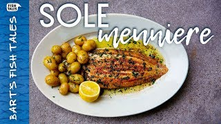 How to Pan-Fry DOVER SOLE Meunière! | Bart van Olphen by Bart's Fish Tales