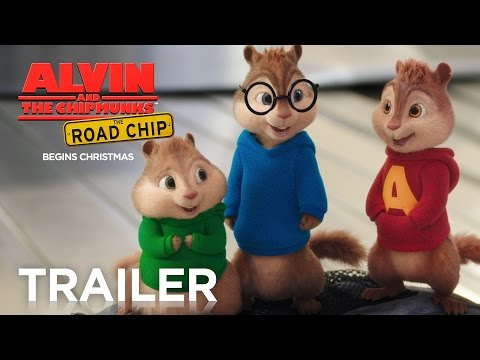 Alvin and the Chipmunks: The Road Chip | Official Trailer 2 [HD] | Fox Family Entertainment