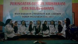 Puitisasi Yaa Rasulullah Salamun Alaik...Taghoni MTsN 2 Cirebon