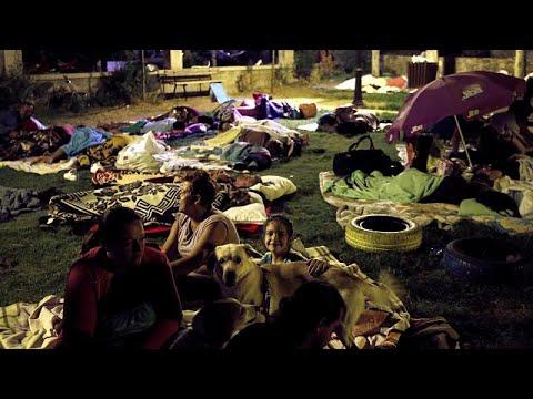 Παραμένει η αγωνία στη Κω μετά το μεγάλο σεισμό