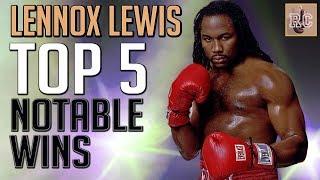 Video Lennox Lewis - Top 5 Notable Wins MP3, 3GP, MP4, WEBM, AVI, FLV Maret 2019
