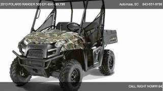 8. 2013 POLARIS RANGER 500 EFI 4X4 CAMO EDITION 4X4 - for sale in Murrells Inlet, SC 29576