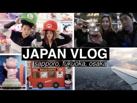Three Cities in 3 Days: Sapporo, Fukuoka, & Osaka