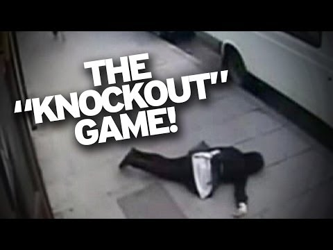 knockout - The knockout game that's not a game but actually assault has resulted in someone being charged with a hate crime after someone punched an Orthodox Jewish man...