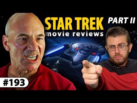 STAR TREK Movie Reviews (Part II) - The Next Generation (видео)
