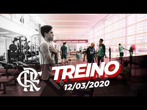 Treino do Flamengo - 12/03/2020
