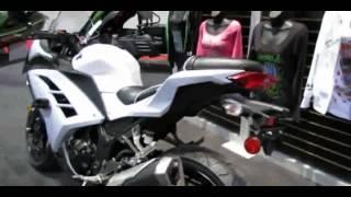 10. 2014 Kawasaki Ninja 300 ABS Accessorized Walkaround