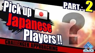 EVO 2016 Smash 4 Japanese Players Part 2