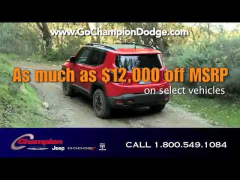 2017 Dodge & Jeep WINTER CLEARANCE - Los Angeles, Cerritos, Downey CA - Ram & Chrysler - EVENT