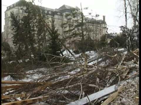 Víchrica v Tatrách 19.11.2004