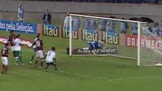 Brasileirão 2010 - Estádio: Maracanã - Flamengo 1 x 2 Goiás - Gols do Verdão: Hugo e Otacíllio Neto. Imagens: SporTV ...