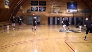 Bridgton Baseball Drills - Box Drill (SS)