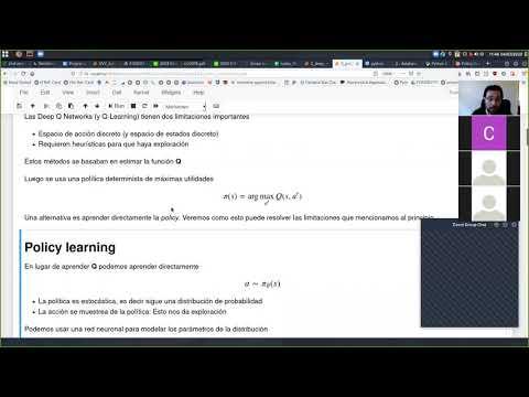 [INFO267] Aprendizaje Reforzado: Policy Gradient