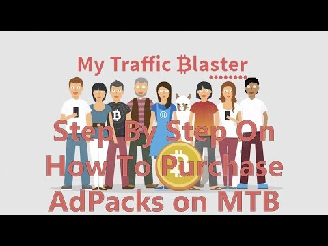 Step by Step On How To Purchase Adpacks On MTB (MyTrafficBlaster)