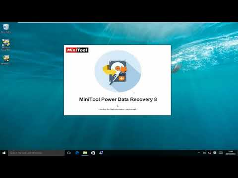 Raw Files Recovery - MiniTool Power Data Recovery Save Raw Files