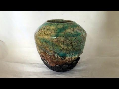 Keramik Schneckenvase/Ceramic Vase